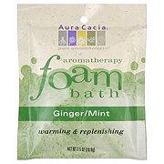 Aura Cacia Pure Aromatherapy Ginger/Mint Foam Bath