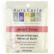 Aura Cacia Pure Aromatherapy Heart Song Mineral Bath