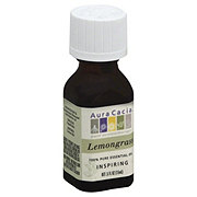 Aura Cacia Pure Aromatherapy Inspiring Lemongrass 100% Pure Essential Oils