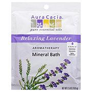 Aura Cacia Pure Aromatherapy Lavender Harvest Mineral Bath