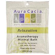 Aura Cacia Relaxation Sweet Orange Aromatherapy Mineral Bath
