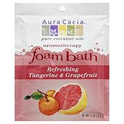 Aura Cacia Tangerine & Grapefruit Foam Bath