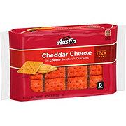 Austin Sandwich Crackers Cheddar Cheese on Cheese Crackers ...  |Austin Cheddar Cheese
