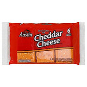 Austin Cheese Crackers with Cheddar Cheese Sandwich Crackers