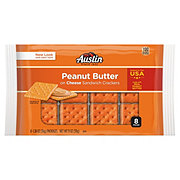 Austin Cheese Crackers with Peanut Butter Sandwich Crackers