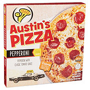 Austin's Pizza Pepperoni Thin Crust Pizza