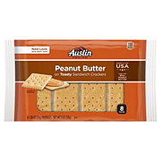 Austin Toasty Crackers with Peanut Butter Sandwich Crackers