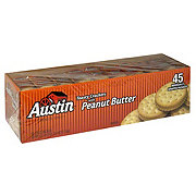 Austin Toasty Crackers with Peanut Butter Sandwich Crackers Club Pack