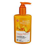 Avalon Organics Intense Defense with Vitamin C Cleansing Gel