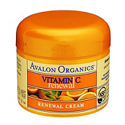 Avalon Organics Intense Defense with Vitamin C Renewal Facial Cream
