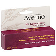Aveeno Active Naturals 1% Hydrocortisone Anti-itch Cream, Maximum Strength