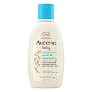 Aveeno Baby Wash & Shampoo, Lightly Scented