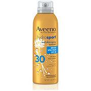Aveeno Hydrosport Wet Skin Spray Sunscreen With Broad Spectrum SPF 30