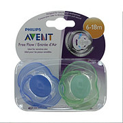 Avent Freeflow Pacifiers (6-18 M), Assorted Colors