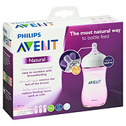 Avent Natural Feeding Bottels 9 OZ 1M+