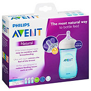 Avent Natural Feeding Bottles 9oz 1M+