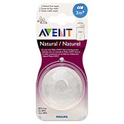 Avent Natural Nipple Medium Flow 3M+