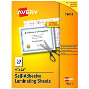 Avery 9x12 in Laminating Sheets