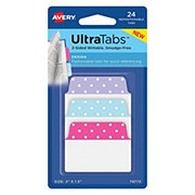 Avery Dots Ultra Tabs 2x1.5 in