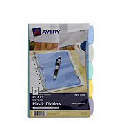 Avery Mini Durable Write-On Plastic Dividers