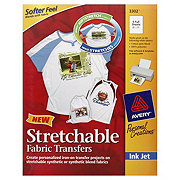 Avery Personal Creations Stretchable Fabric Transfers, 5 CT