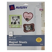 photograph regarding Printable Magnet Sheets identify Avery Printable Magnet Sheets 53208, White 8.5\