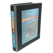 "Avery Ultralast 1"" Binder with Slant Rings, Black"