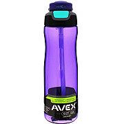 Avex Brazos Autoseal Purple Water Bottle, 25oz