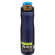 Avex Brazos Autoseal Stainless Midnight Blue Water Bottle, 24oz