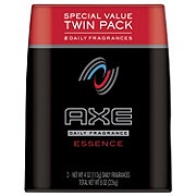 AXE Essence Body Spray for Men, Twin Pack