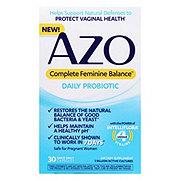 Azo Complete Feminine Balance Complete Feminine Balance Daily Probiotic