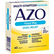 Azo Dual-action Formula Yeast Tablets