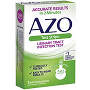 Azo Test Strips Urinary Tract Infection Test