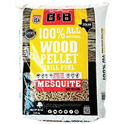 B & B Charcoal Mesquite Wood Pellet Grill Fuel