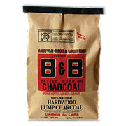 B & B Natural Hardwood Lump Charcoal