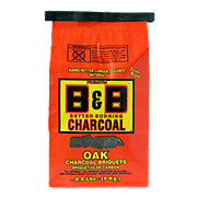 B & B Natural Oak Charcoal Briquets