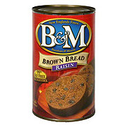 B & M Raisin Brown Bread