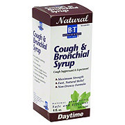 B&T Natural Cough And Bronchial Syrup Maximum Strength Daytime Syrup