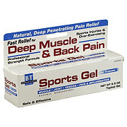 B&T Sports Gel For Deep Muscle & Back Pain