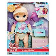 Baby Alive Twinkles N' Tinkles Dolls (Blonde)