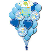 Baby Boy Colossal Balloon Bouquet
