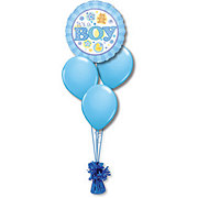 Baby Boy Petite Balloon Bouquet