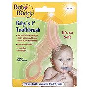 Baby Buddy Pink Baby's 1st Toothbrush