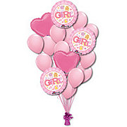 Baby Girl Large Balloon Bouquet