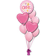 Baby Girl Medium Balloon Bouquet
