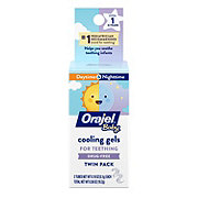 Baby Orajel Teething Gels Daytime & Nighttime Twin Pack