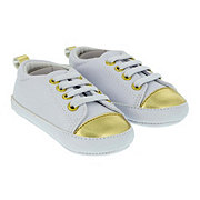 Baby Shoes & Sandals Soft Sole Gold Sneaker Shoes