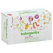 Babyganics Loads of Love Baby Fresh Scent Dryer Sheets