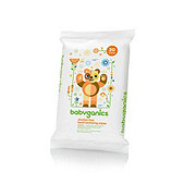 Babyganics The Germinator Citrus Hand Sanitizer Wipes