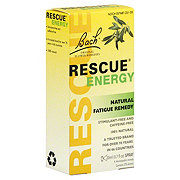 Bach Original Flower Remedies Rescue Energy Spray